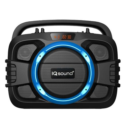 Supersonic Wireless Bluetooth Speaker- Blue