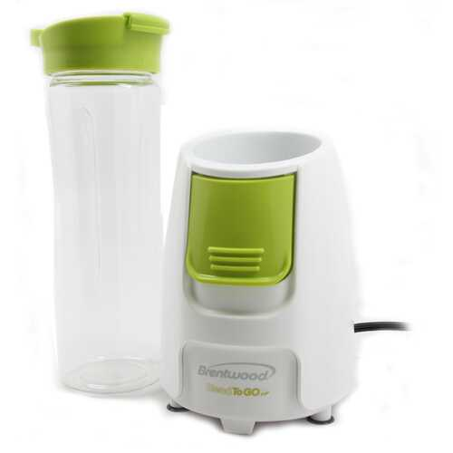 Brentwood Blend-To-Go Personal Blender - White