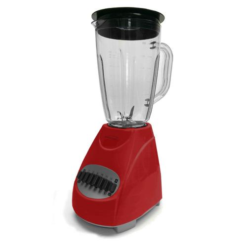 Brentwood 12 Speed Blender Glass Jar -Red
