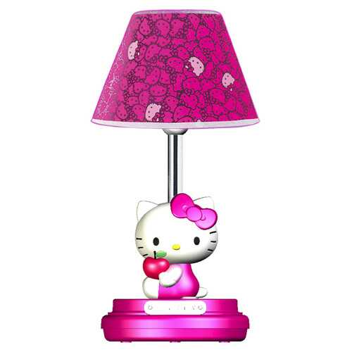 Hello Kitty Table Lamp- Magenta