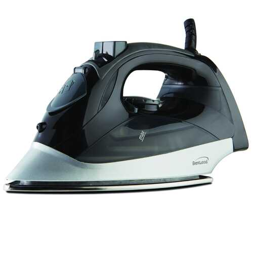 Brentwood Steam Iron With Auto Shut-OFF - Black