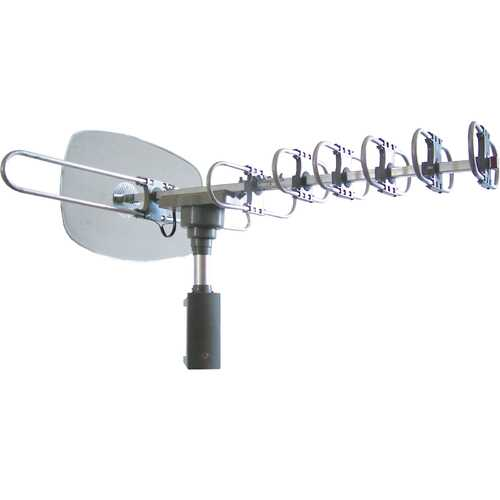 Naxa High Powered Amplified Motorized Outdoor Antenna For ATSC and HDTV