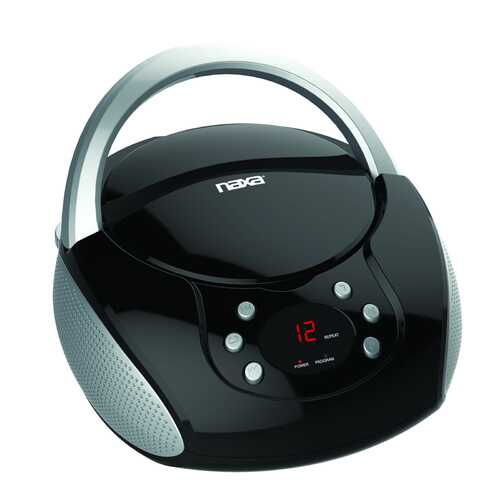 NAXA Portable CD Boombox