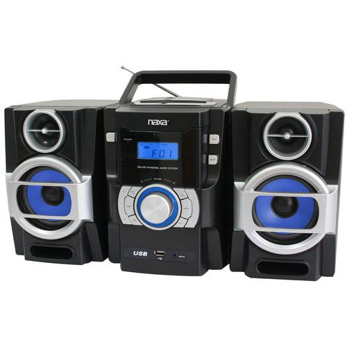 Naxa Portable MP3/CD Player with PLL FM Radio & USB Input