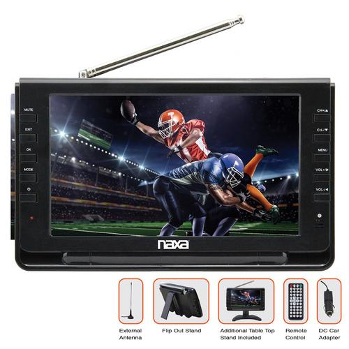 "9"" Portable TV & Digital Multimedia Player"