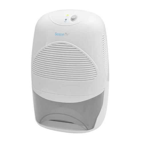 SereneLife Electronic Dehumidifier, Digital Moisture Control