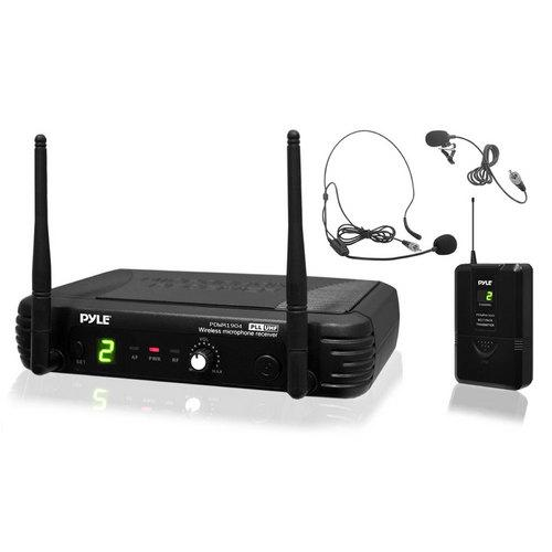 Pyle Premier Series Professional UHF Wireless Body-Pack Transmitter Microphone System