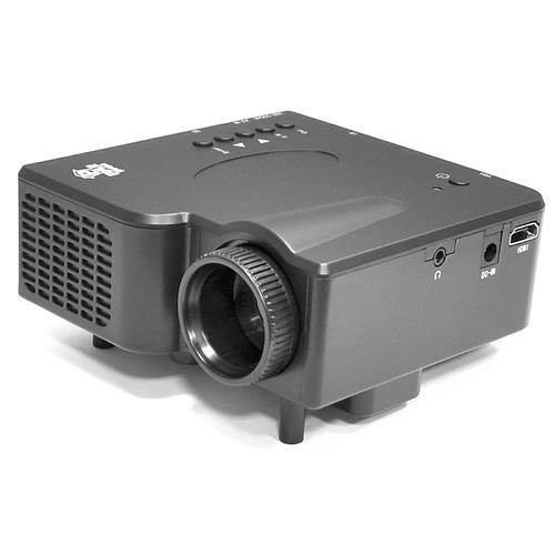 Pyle Home Multimedia Home Theater Mini Projector Compatible with HDMI, AV, VGA Inputs, SD and USB