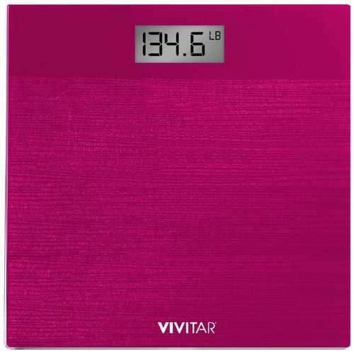 Vivitar Digital Sparkle Scale in Pink