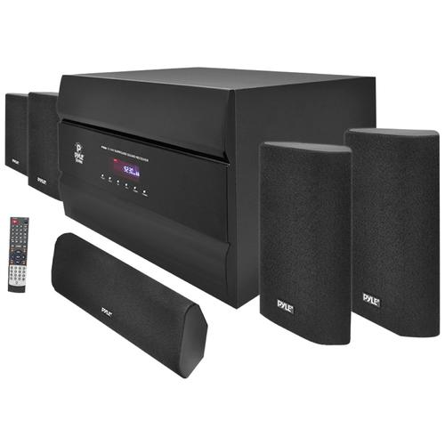 Pyle  400-Watt 5.1 Channel Home Theater System with AM/FM Tuner, CD, DVD & MP3 Player Compatible