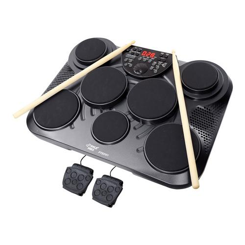 Pyle Electronic Table Digital Drum Kit Top w/ 7 Pad Digital Drum Kit