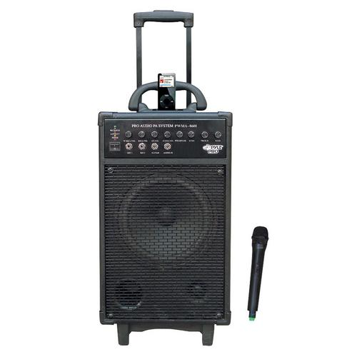 Pyle 500W VHF Wireless Portable PA System /Echo W/iPod Dock