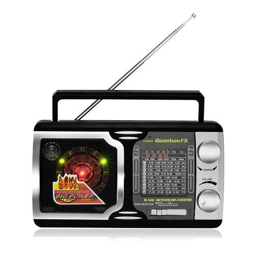AM/FM.TV/SW1-SW9 RADIO With Disco Light