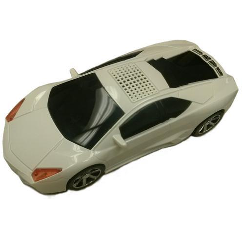 Supersonic Portable Car Speaker W/ Usb/Micro-Sd/Aux-In/Fm Radio
