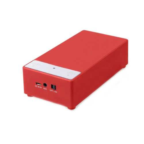 Supersonic Portable Induction Magic Speaker-Red