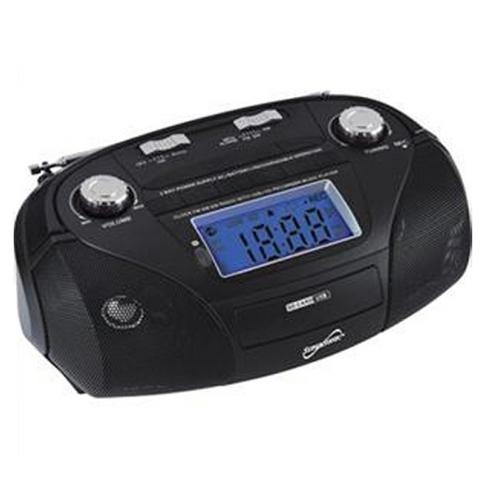 High Performance Portable Mp3 Speaker with Usb/Sd/Aux and Multi-Band Radio/Led Display/ Recording Function