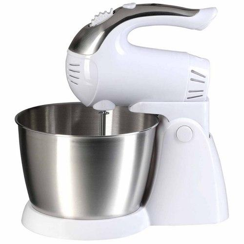 Brentwood 5-Speed Stand Mixer Stainless Steel Bowl 200W White