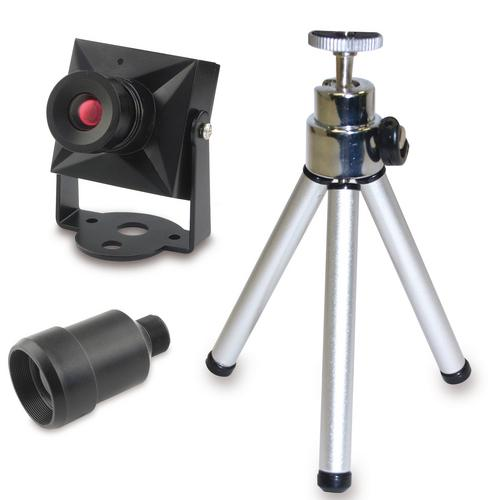 Swann DIY Security Cam Color Video Camera with BONUS Tripod & Telephoto Lens