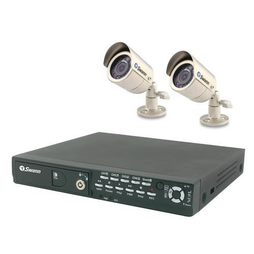 Swann SW244-PO2 DVR4-1100 Digital Video Recorder Plus 2 Outdoor Cams