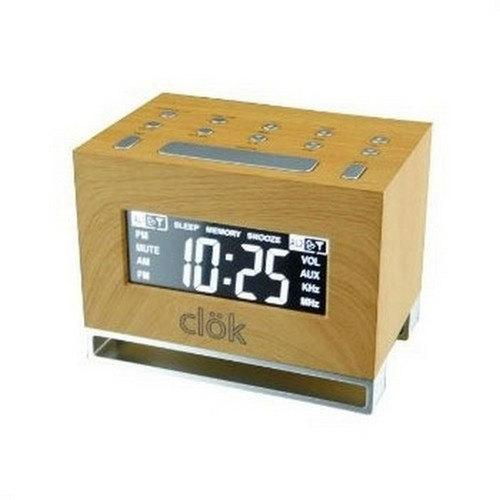 GPX Intelli-Set Clock with Digital Tune AM/FM Radio