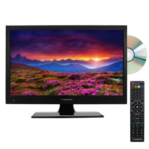 "15.6"" LED AC/DC TV with DVD Player Full HD with HDMI, SD Card Reader and USB"