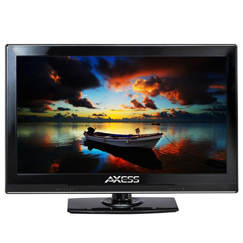 "Axess 15.4"" LED AC/DC TV Full HD with HDMI and USB, ideal for home, office, cars, trucks, RVs and boats"