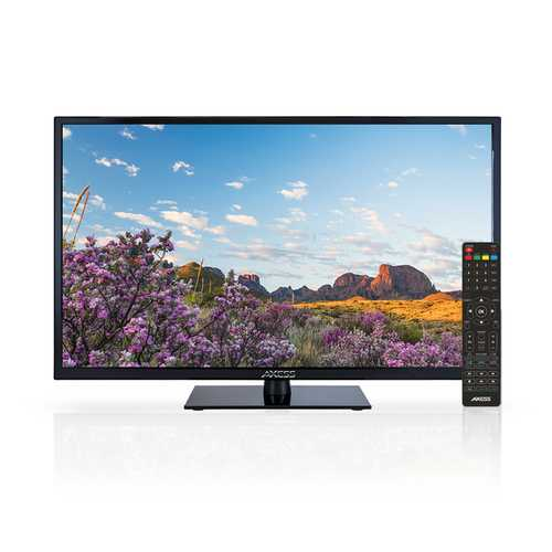 AXESS TV1703-40 40-Inch 1080p LED HDTV, Features VGA/3xHDMI/Headphone Inputs, Built-In Digital Speakers, Noise Reduction, Full Function Remote