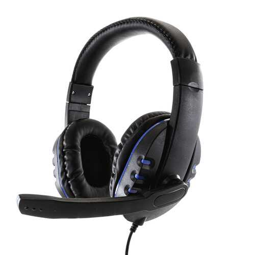 GameFitz Wired Stereo Gaming Headset for PS4, XB1 and Nintendo Switch