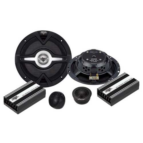 Lanzar Vector 6.5'' 2-Way Slim Component Speaker System