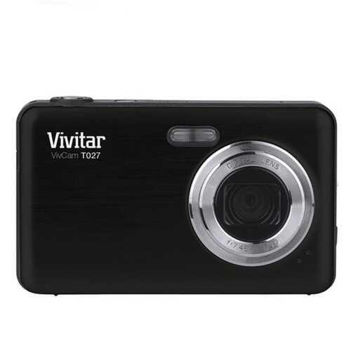 Vivitar Digital Camera with 12.1 Megapixels-Black