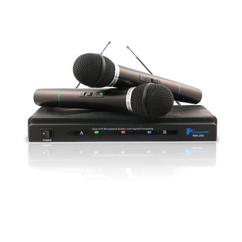 Technical Pro Dual signal VHF high band microphone system