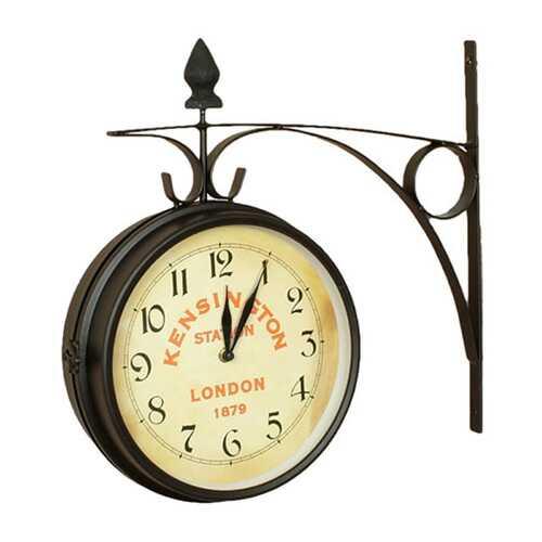 Kensington Station Double Side clock (Large)