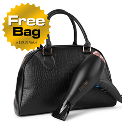 Conair Infiniti Pro Exlusive Premium Overnight Bag Complete with 1875 Watt Dryer