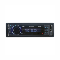 Boss Single-DIN In-Dash MP3-Compatible Digital Media Receiver with Front USB/AUX/SD Card Input