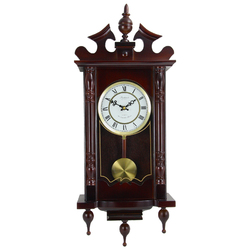 "Bedford Clock Collection Classic 31"" Wall Clock"