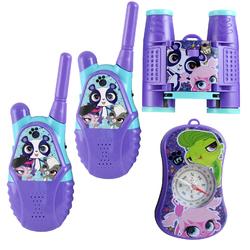 Littlest Pet Shop Walkie Talkie 4 Piece Adventure Kit