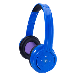 Craig Bluetooth Stereo Headphone-Blue