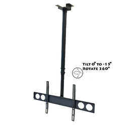 """MegaMounts Heavy Duty Tilting Ceiling Television Mount for 37"""" - 70"""" LCD, LED and Plasma Televisions"""