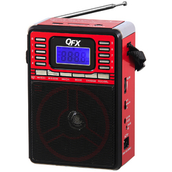 Quantum FX Portable PA System with USB/SD and FM Radio