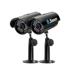Swann SW212-MDL MaxiBrite Kit Real & Imitation Security Cameras (Black)