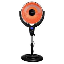 "Optimus 14"" Oscillitating Pedestal Digital Dish Heater with Remote"