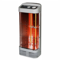 Tower Quartz Heater with Thermostat
