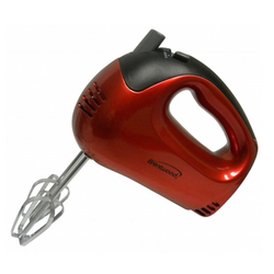 Brentwood 5-Speed Hand Mixer (Red)