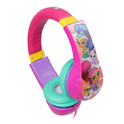 Nickelodeon Shimmer and Shine Volume Limiting Wired Kids Headphones