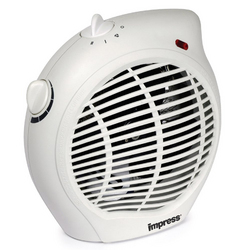 Impress Fan Heater with Thermostat