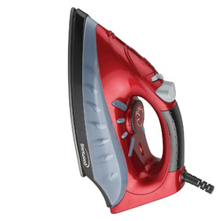 Brentwood Full Size Steam / Spray / Dry Iron in Red