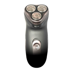 Vivitar 3-Head Rotary Rechargeable Cordless Shaver Contours to Face Chin and Jaw