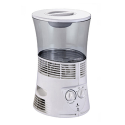 Optimus 3.0 Gal Cool Mist Evaporative Humidifier in White