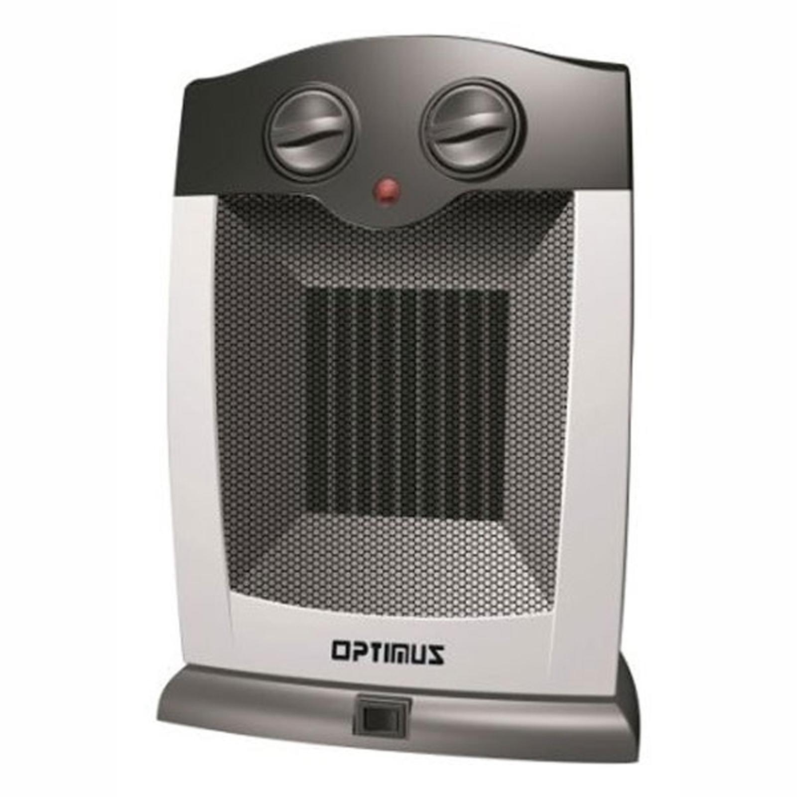 Shop Optimus Portable Oscillating Ceramic Heater With