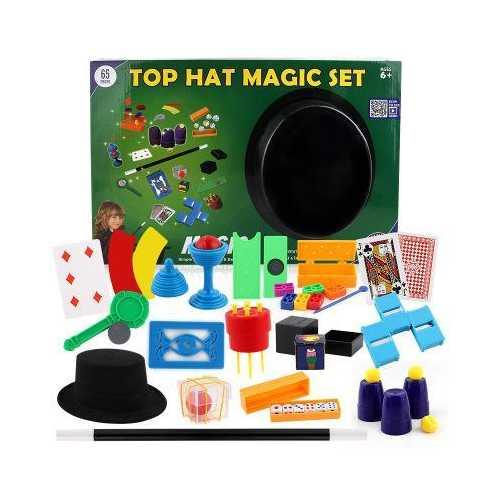 Abracadabra Magic Tool Box With 65 Props